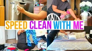 CLEAN WITH ME | SPEED CLEANING MOTIVATION | Page Danielle