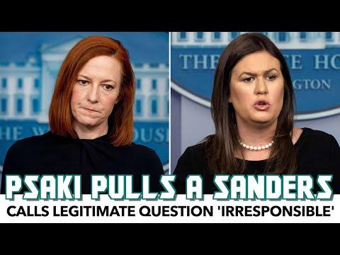 Jen Psaki Pulls A Sarah Huckabee Sanders