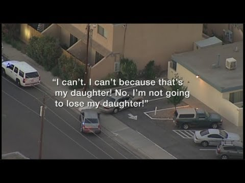911 call details mother's chase after kidnapper