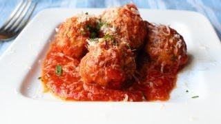 Meatless Meatballs! Vegetarian Garlic & Mushroom Meatballs