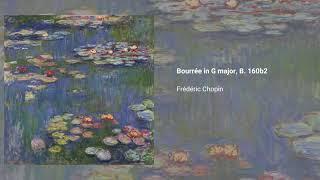 2 Bourrées, B. 160b