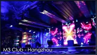 hangzhou M3 club videos, DGX led screen