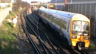 preview picture of video '465242 & 465017 Arrive At Gillingham Depot'