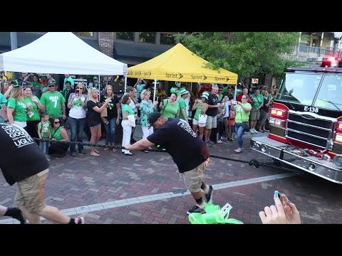 2 St. Patrick's Day Block Parties In 1 Day! | Irish Food In Lake Mary & Fire Truck Pull In Sanford!