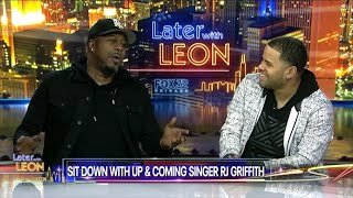 RJ Griffith - Later With Leon Interview and Performance