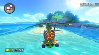 DS Cheep Cheep Beach - 1:43.857 - νιстοrιουs (Mario Kart 8 World Record)