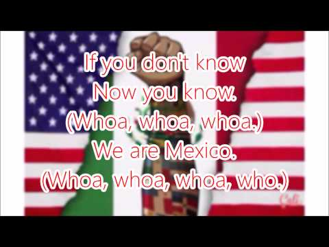 We Are Mexico - Becky G (Lyrics)