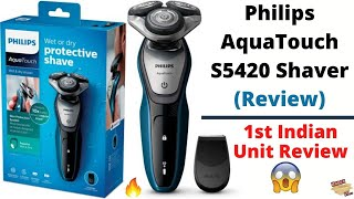 Philips AquaTouch S5420 Shaver (Review)