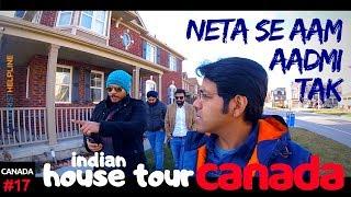 INDIANS IN CANADA - House Tour | Gurudwara | Politics