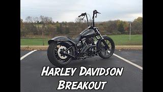 Harley Davidson Breakout Blackout WalkAround