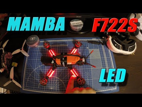 MAMBA F722S - LED control from a button. Banggood.