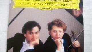 Mintz plays Faure Sonata 1 (1/3)