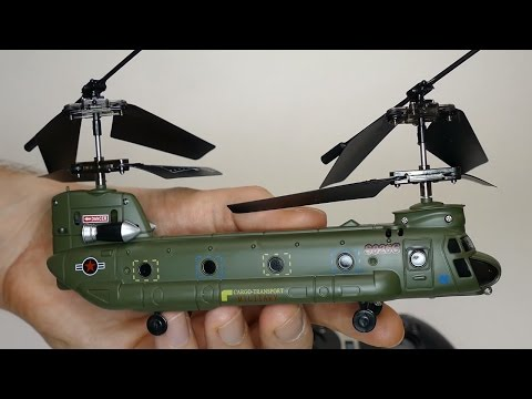 Mini Chinook RC Helicopter | Syma S026