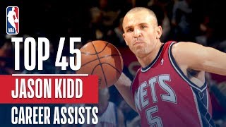 Jason Kidd's Top 45 Assists! - Video Youtube