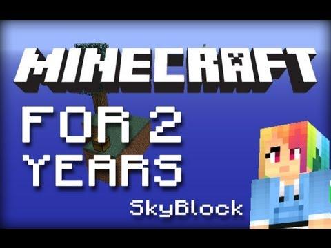 LegoSky007: SkyBlock на 2 года :D