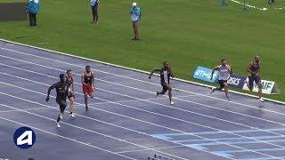 Villeneuve d'Ascq 2019 : 100 m M (Mouhamadou Fall en 10''31)