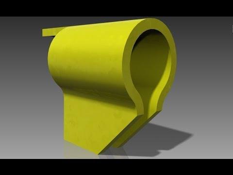 Brida de apriete -Inventor tutorial completo 002