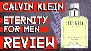 CALVIN KLEIN ETERNITY FOR MEN REVIEW