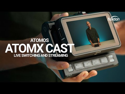 Atomos AtomX CAST - Live Switching and Streaming with a Ninja V - Feature Overview