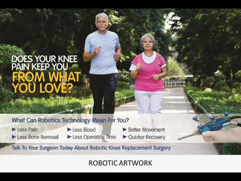 Thumbnail of video - Robotic Assisted Joint Replacement Surgery - Dr Hrushikesh Saraf