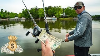 Fishing a Tournament For BIG Money!