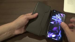 Apple Leather Folio Case review for iPhone XS Max in black