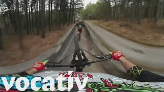 360˚ Of Crazy Mountain Biking – On A Bobsled Course