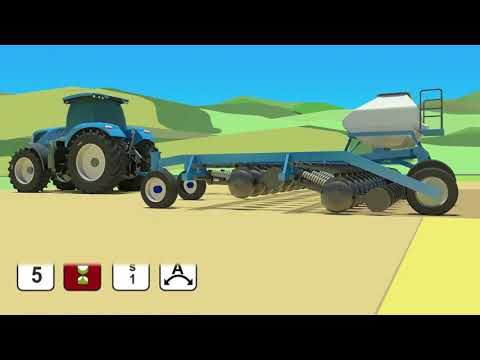 New Holland Headland Turn Sequencing II system