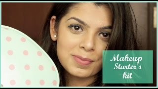 Image for video on Makeup starter's kit | Makeup for beginners | Affordable products for Makeup beginners by Aditi Singh