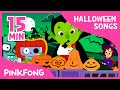 Halloween Costume Party | Halloween Songs | + Compilation | PINKFONG Songs for Children