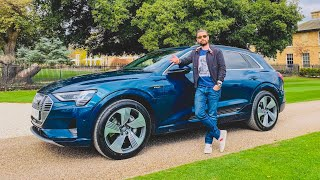 NEW Audi E-Tron SUV First Drive Review - Audi's First Electric 4X4
