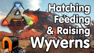 Ark Wyverns - How to Hatch, Feed & Raise Wyvens