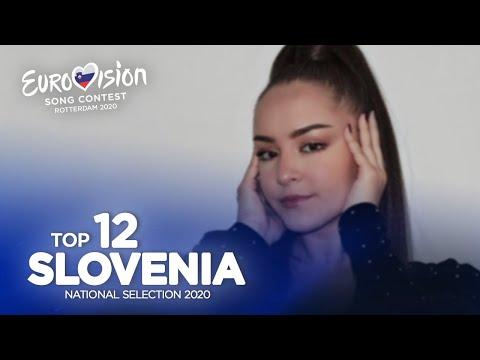 🇸🇮: Eurovision 2020 - Evrovizijska Melodija (EMA) 2020 - Top 12