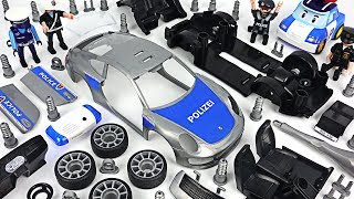 Joker escaped from prison! Robocar Poli! Make a police car with model assemble kit! #DuDuPopTOY