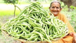 Easy and Quick Indian broad beans recipe || Broad Beans Recipe by Grandma || Myna Street Food