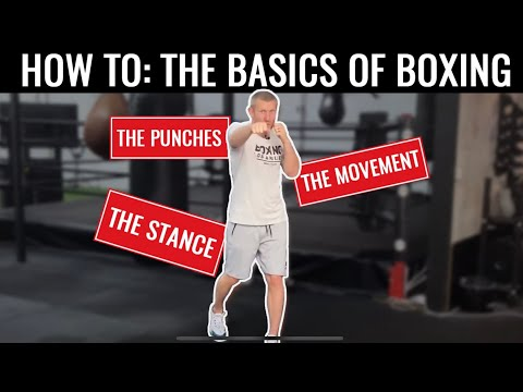 Basics of Boxing - Training for Beginners at Home