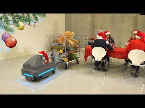 Logistika 4.0 net ir pas Kalėdų Senelį