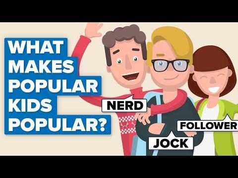 What Makes Popular Kids Popular?