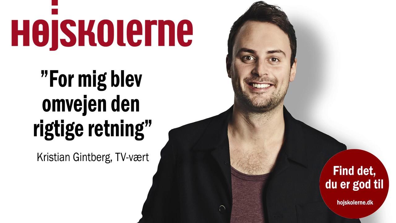 Kristian Gintberg tog på højskole og det gav ham den rigtige retning