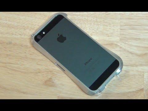 cbea3c90a3d Bumper de aluminio para el iPhone 5 marca Cleave
