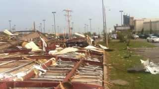 Moore, Oklahoma Tornado and the Damage on 5-20-13