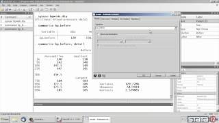 Descriptive statistics in Stata®