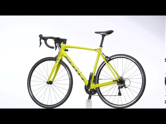 Видео Велосипед Scott Addict 30 Yellow