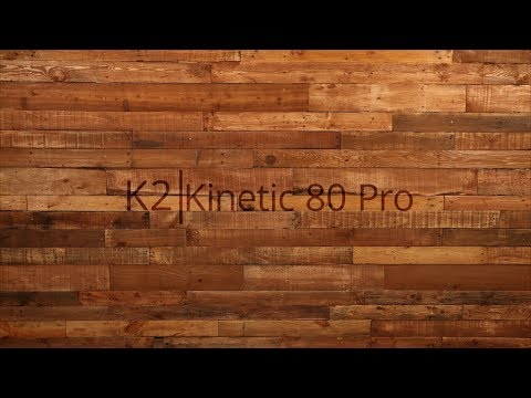 Video: 2018 K2 Kinetic 80 Pro Mens and Womens Inline Skate Overview by InlineSkatesDotCom