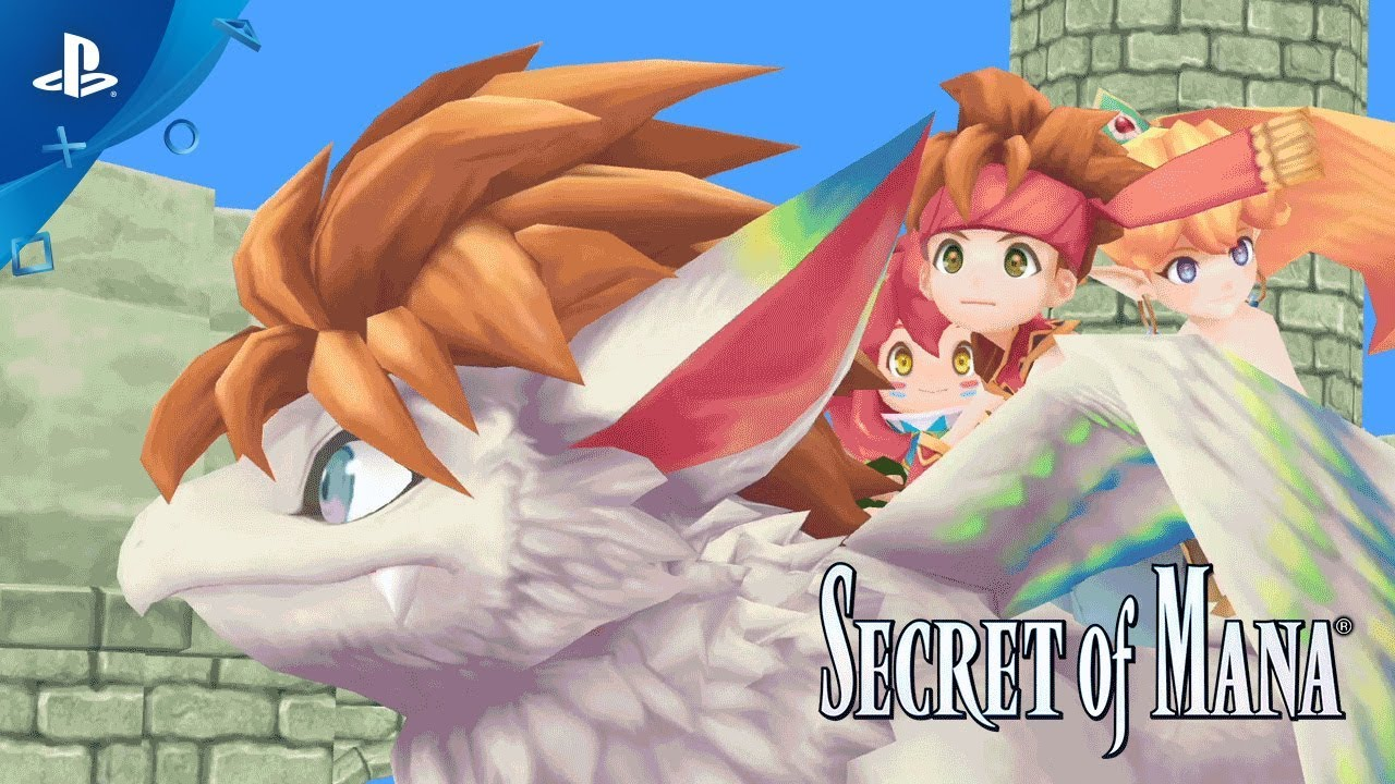 Secret of Mana 3D Remake Launches February 15 on PS4, PS Vita