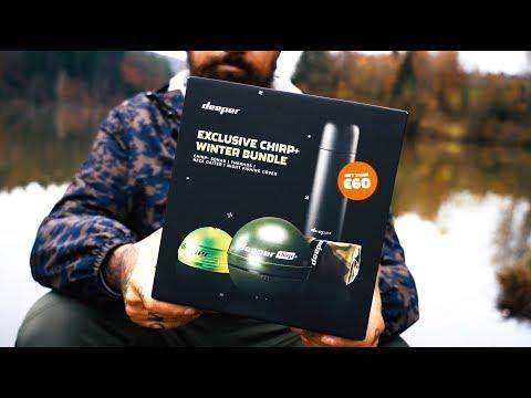 Deeper Deeper Smart Sonar CHIRP+ halradar limitált kiadású karácsonyi csomag videó