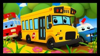 Les roues de l'autobus - Comptines