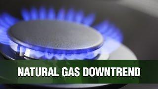 NATURAL GAS A queda do gás natural