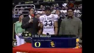 2005 Army Bowl | Rey Maualuga Commits To USC