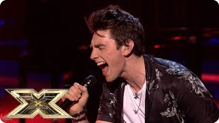 Brendan Murray sings Ariana Grande's Break Free | Live Shows Week 1 | The X Factor UK 2018